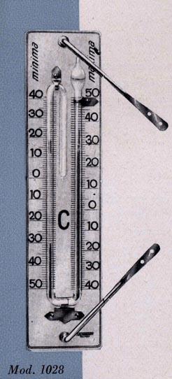 Termómetro de máximas y mínimas