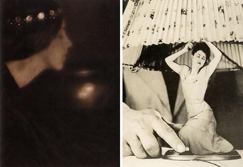 'The black bowl' (George Seeley) y 'Artículos eléctricos para el hogar' (Grete Stern)