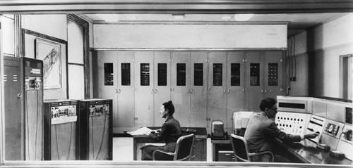El SEAC que se utilizó para crear la primera imagen digital