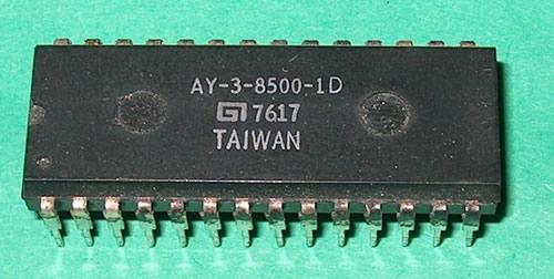 Chip AY-3-8500-1D