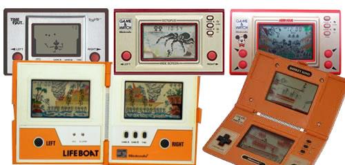 Algunas máquinas de Nintendo Game & Watch