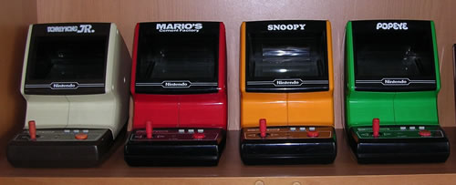 Las 4 Tabletop de Nintendo Game & Watch