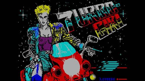 Pantalla de presentación de 'Turbo Girl'