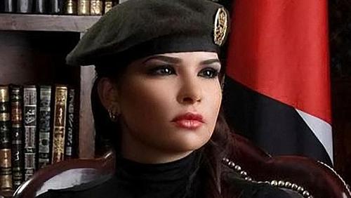 Lara Abdallat como guerrillera cibernética