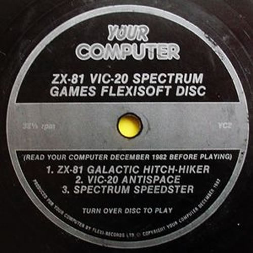 Flexi disc de la revista 'Your Computer'