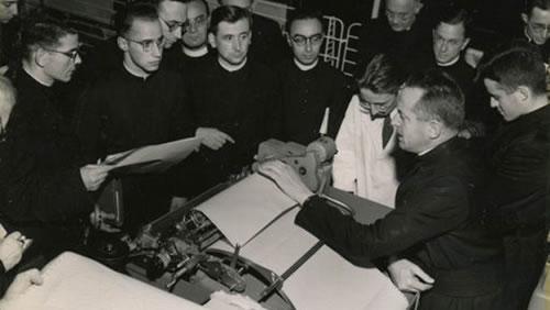 Demostración en IBM Bruselas (1967)