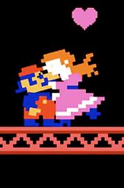 Jumpman (Mario) rescata a Pauline