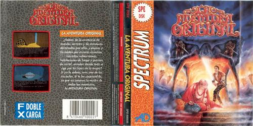 'La aventura original' para ZX Spectrum