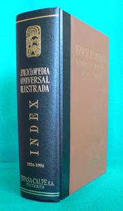 Enciclopedia Espasa-Calpe