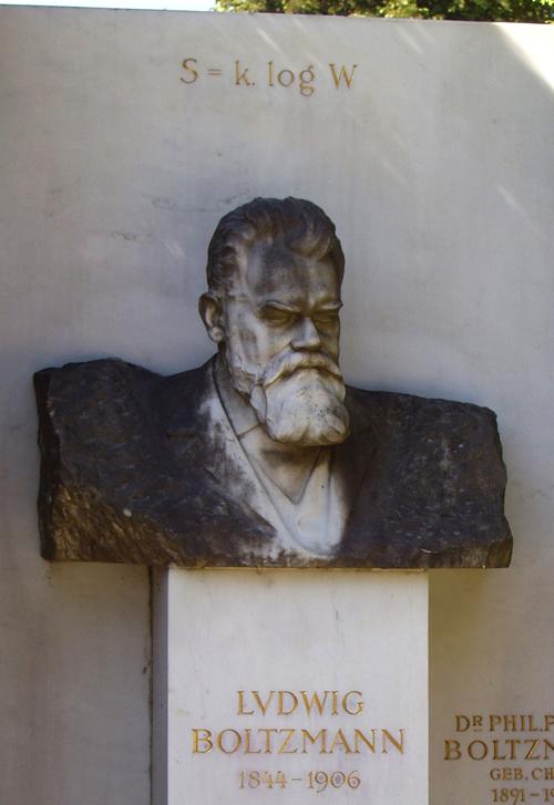 Busto de Ludwig Boltzmann