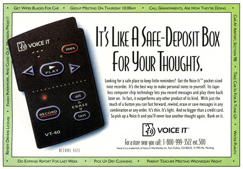 Voice It VT-40 (clic para ampliar)