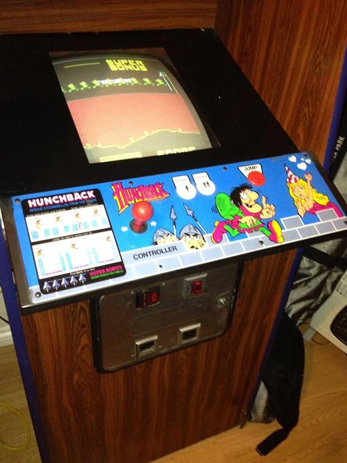 Arcade 'Hunchback' de Ocean