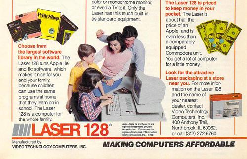 Ordenador Laser 128