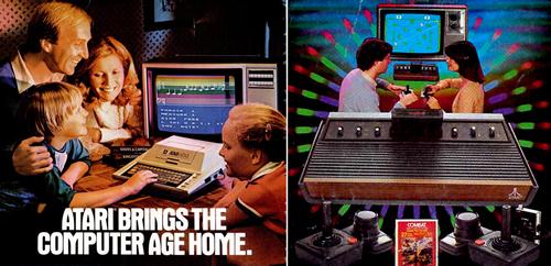 Anuncios de Atari