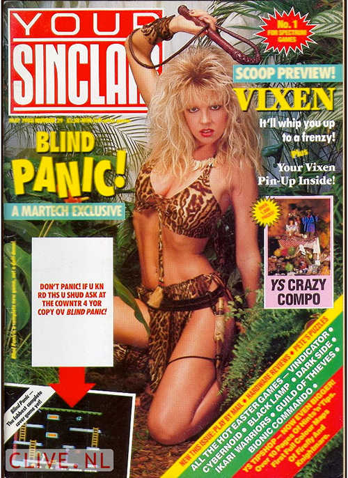 Corinne Russell en 'Your Sinclair'