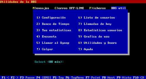 BBS española