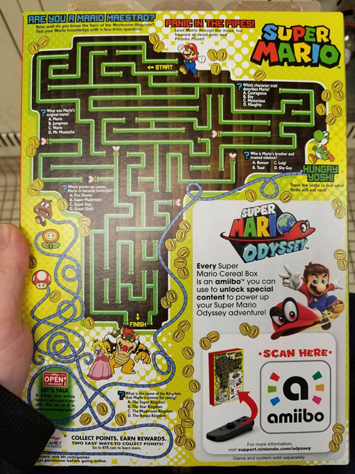 Cereales Mario