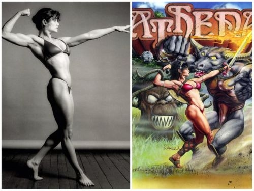 Lisa Lyon / Athena