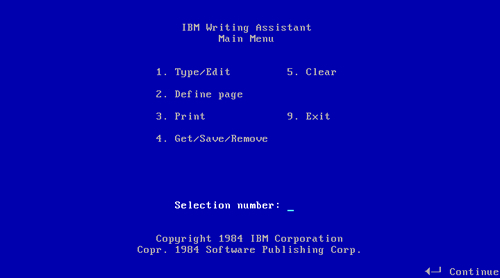 'Writing Assistant 1.0'