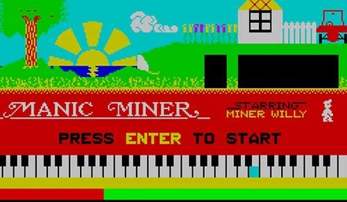 Presentación de 'Manic Miner'